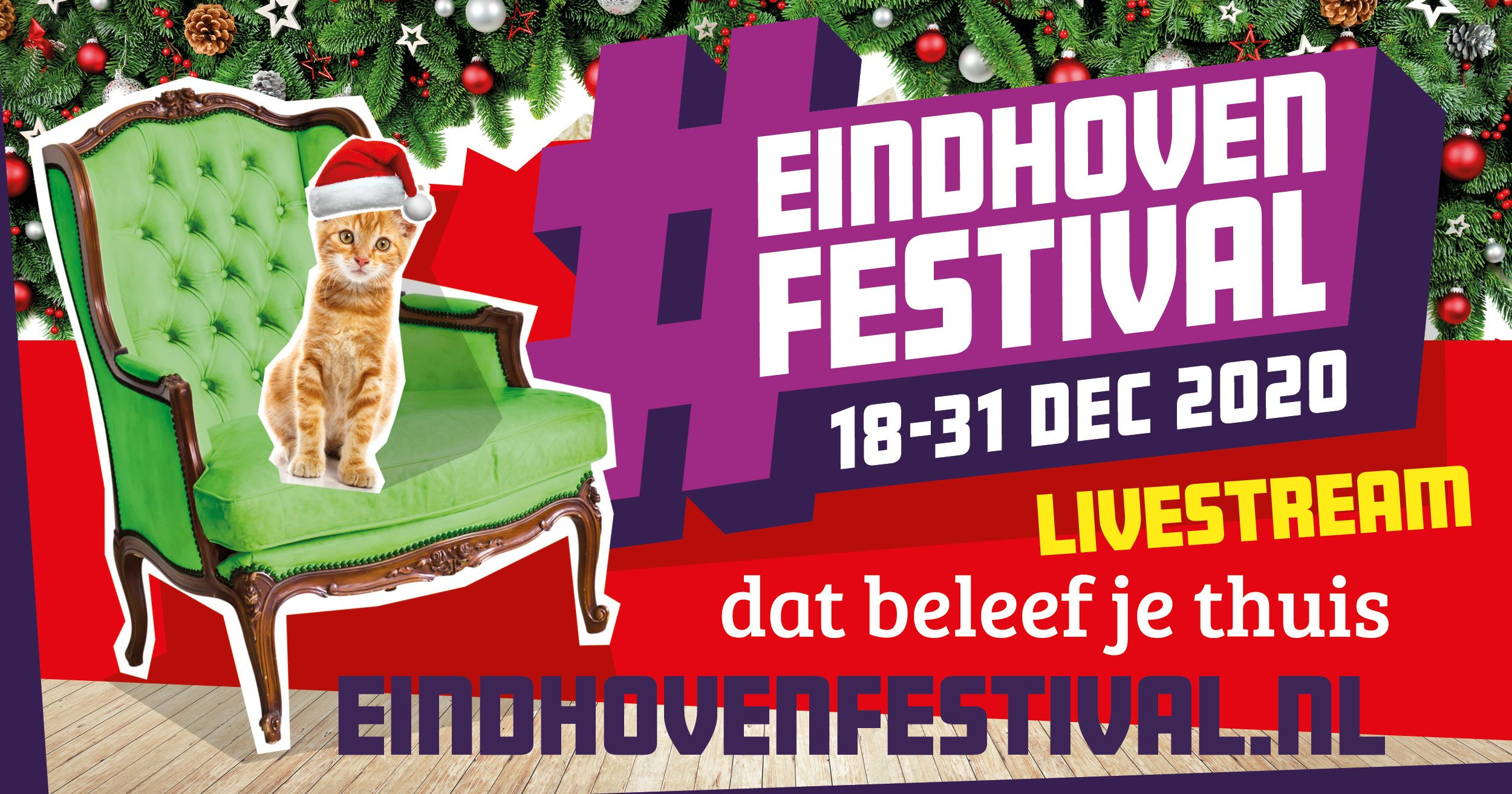 Banner Festival Eindhoven