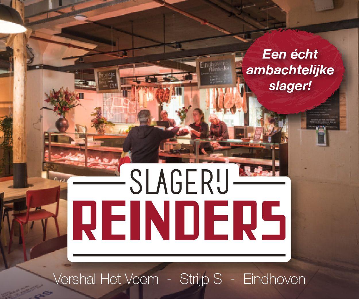 Banner Slagerij Reinders