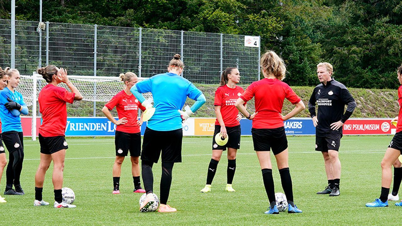 Eerste competitiewedstrijd komt te vroeg voor PSV Vrouwen