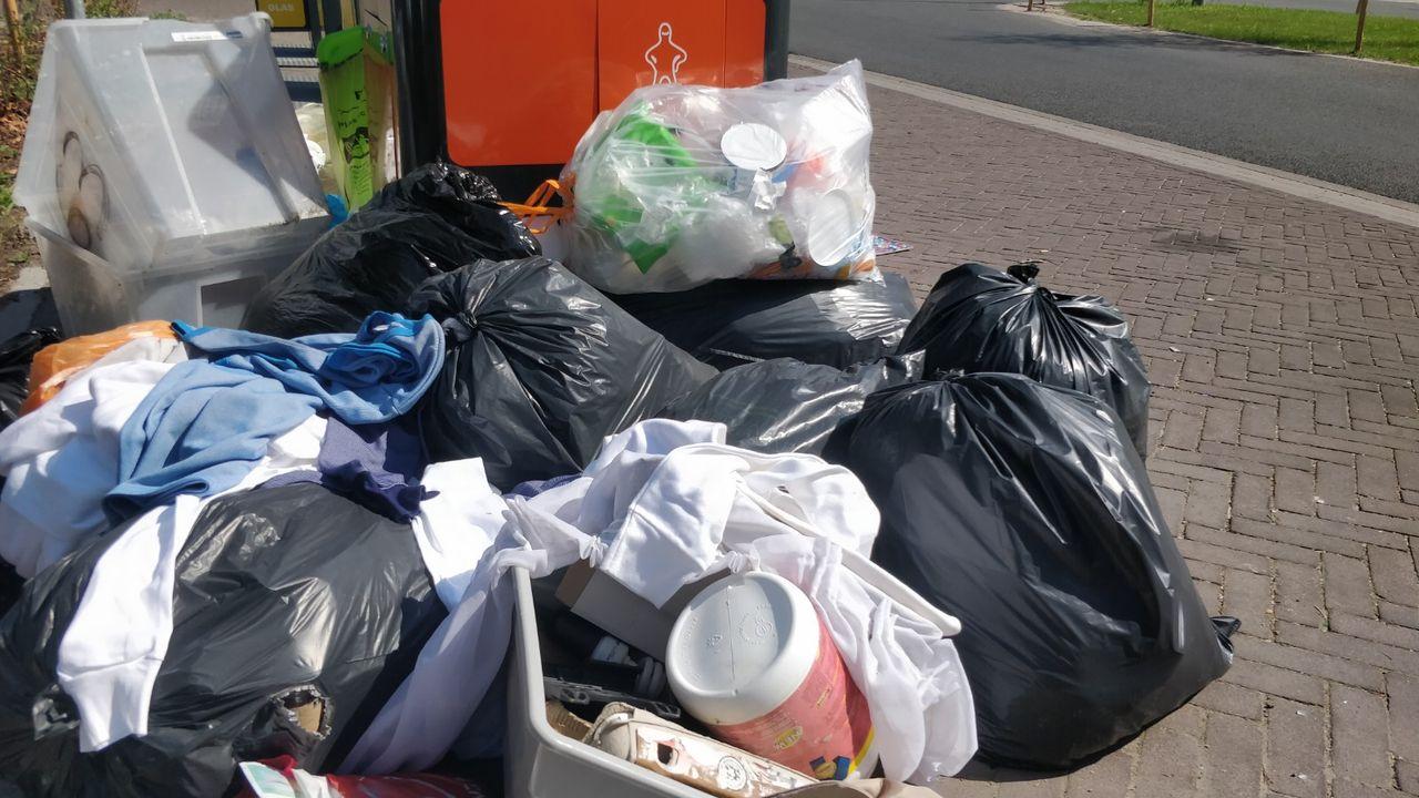 Ook drinkpakken en blik in plasticcontainers