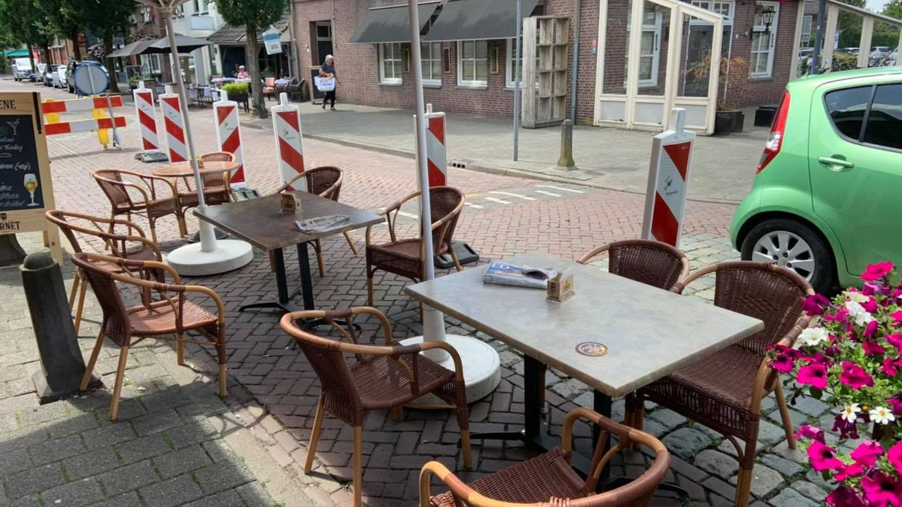 Café-eigenaar René mag volgende week niet open met zijn terras