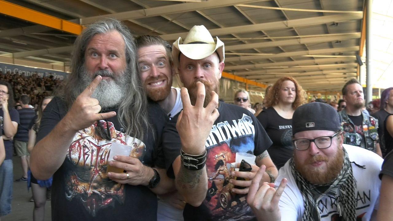 Metalfans uit alle windstreken komen samen tijdens Dynamo Metalfest 2019