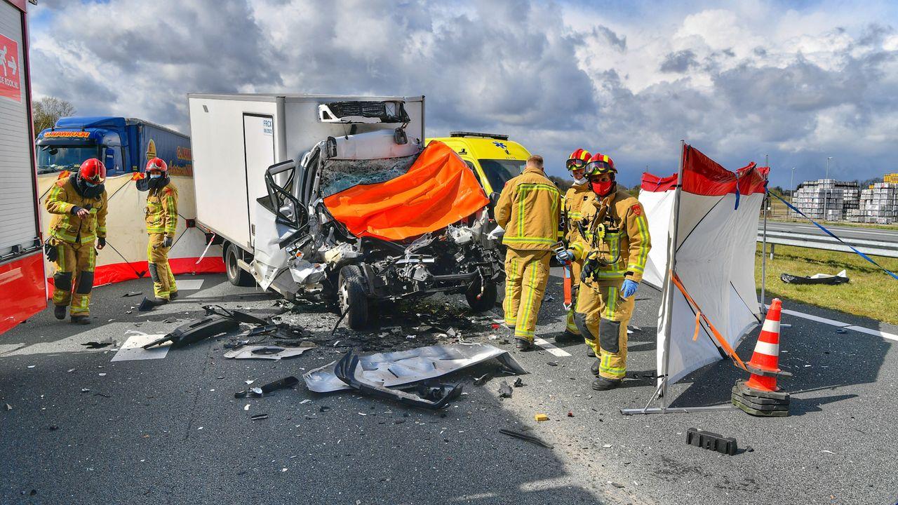 Dodelijk ongeluk A67