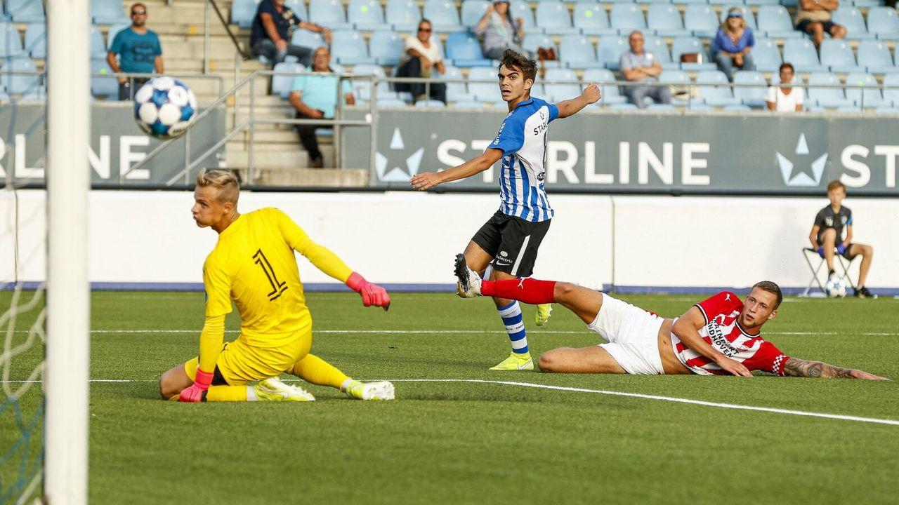 FC Eindhoven wint van Jong-PSV
