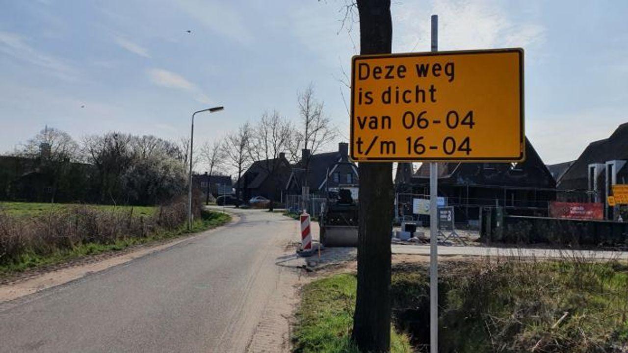 Kruispunt in wijk Luchen in Geldrop-Mierlo afgesloten vanwege werkzaamheden