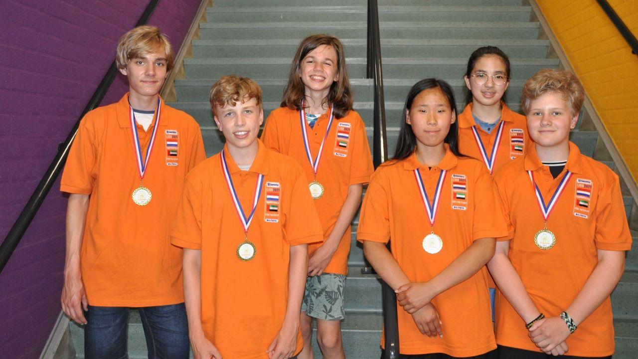 Eindhovense leerling (15) wint nationale eindronde International Junior Science Olympiad