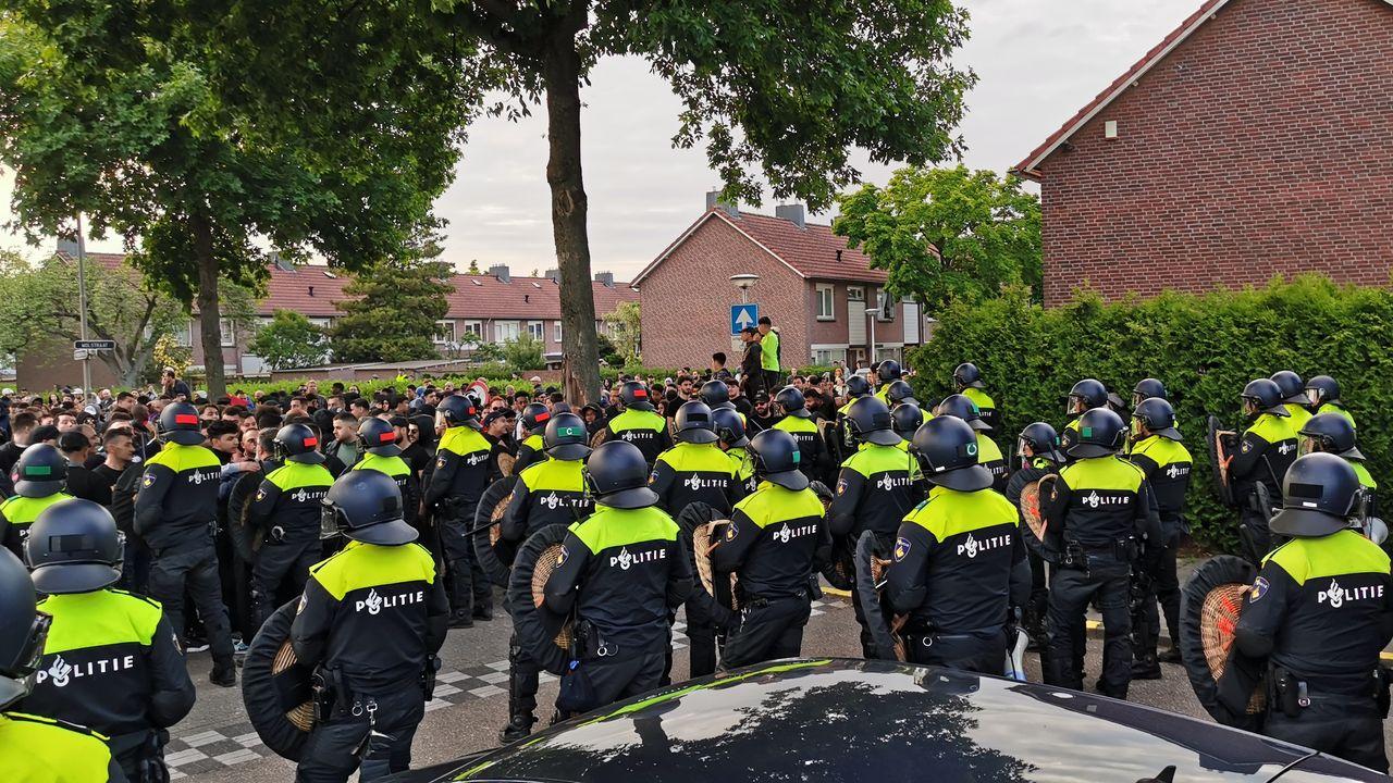 11 mannen veroordeeld voor geweld bij Pegida-demonstratie