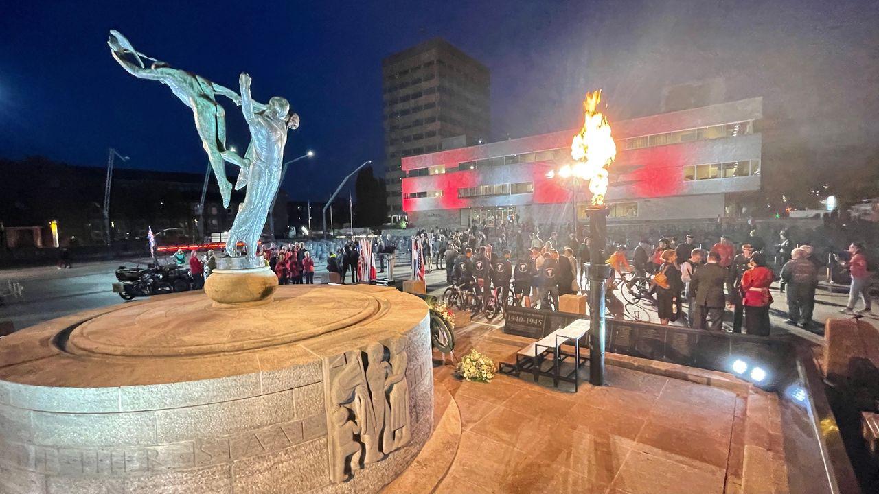 Drie coronademonstranten aangehouden tijdens bevrijdingsviering Eindhoven