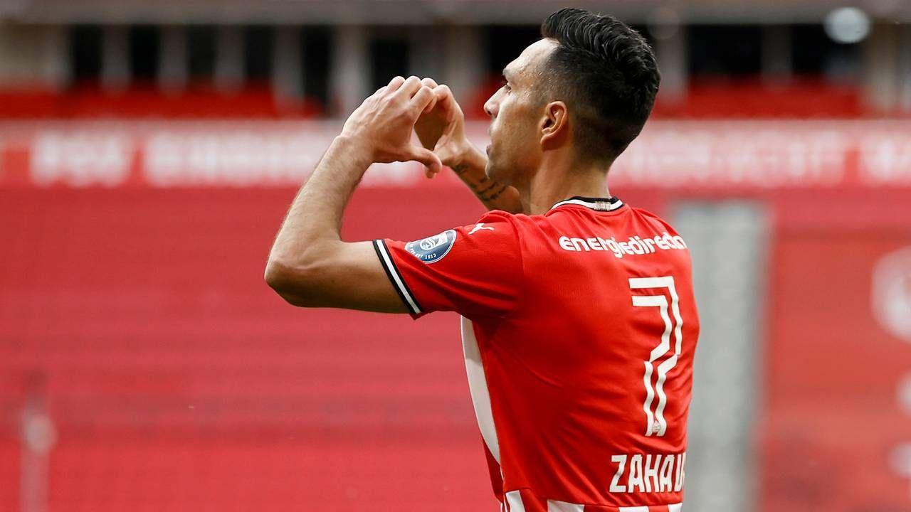 Eran Zahavi na roerige week: 'Ik wil bij PSV blijven'