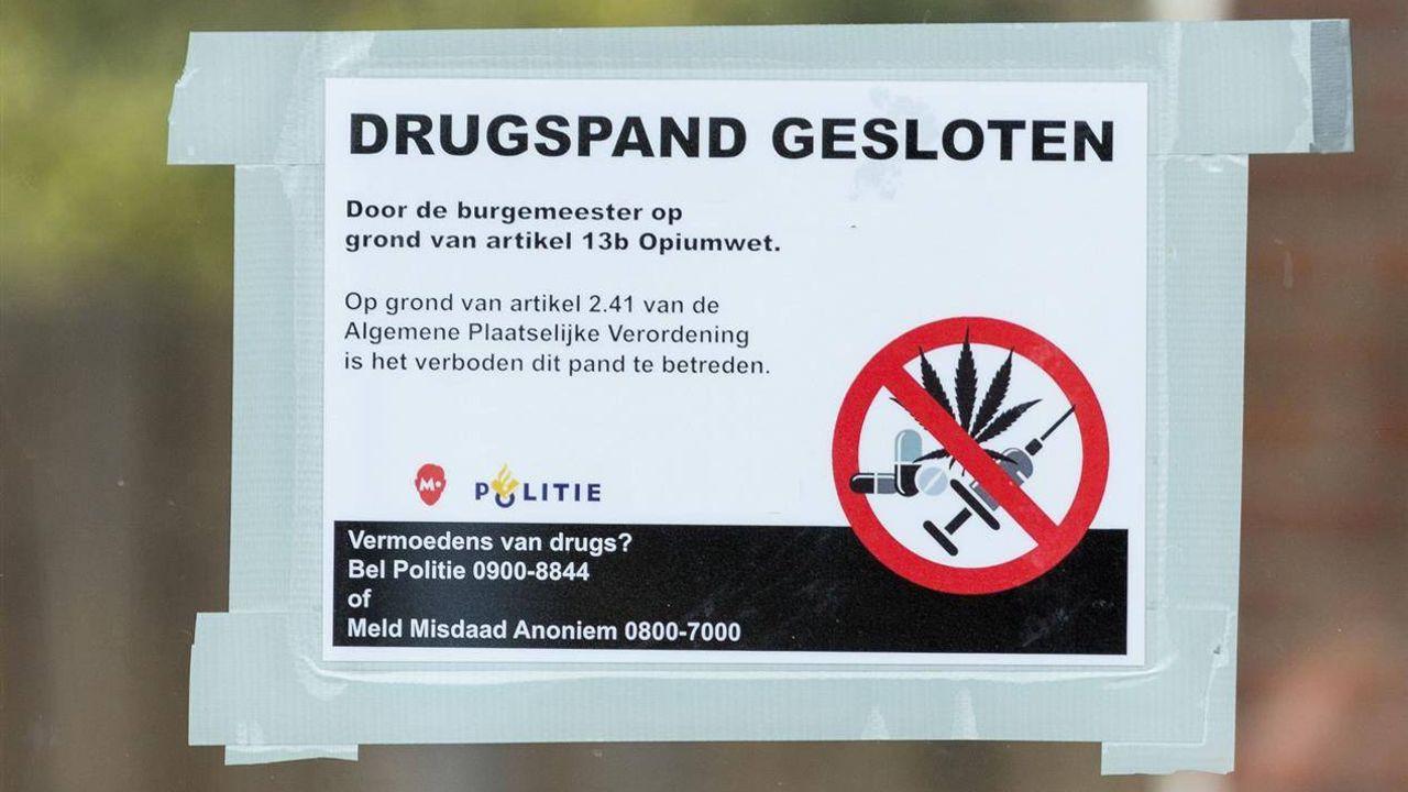 Gemeente sluit woning op de Kruisstraat vanwege drugsvondst