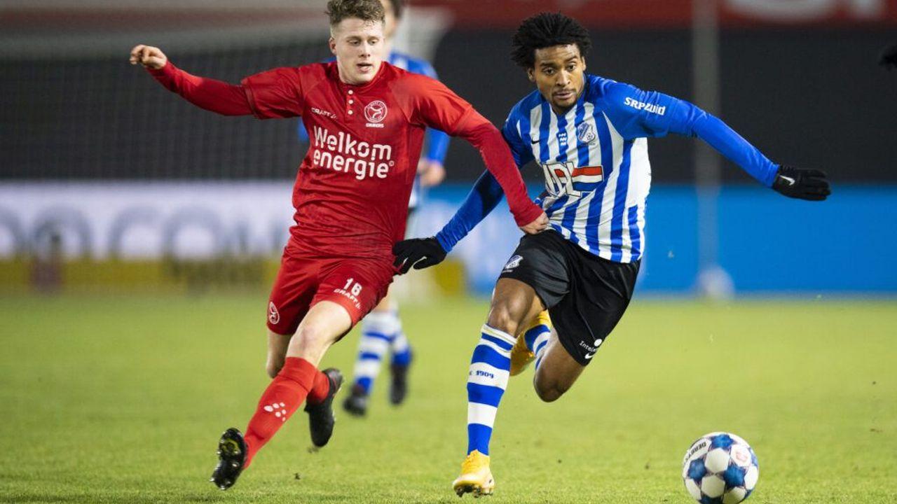 FC Eindhoven speelt gelijk tegen Almere