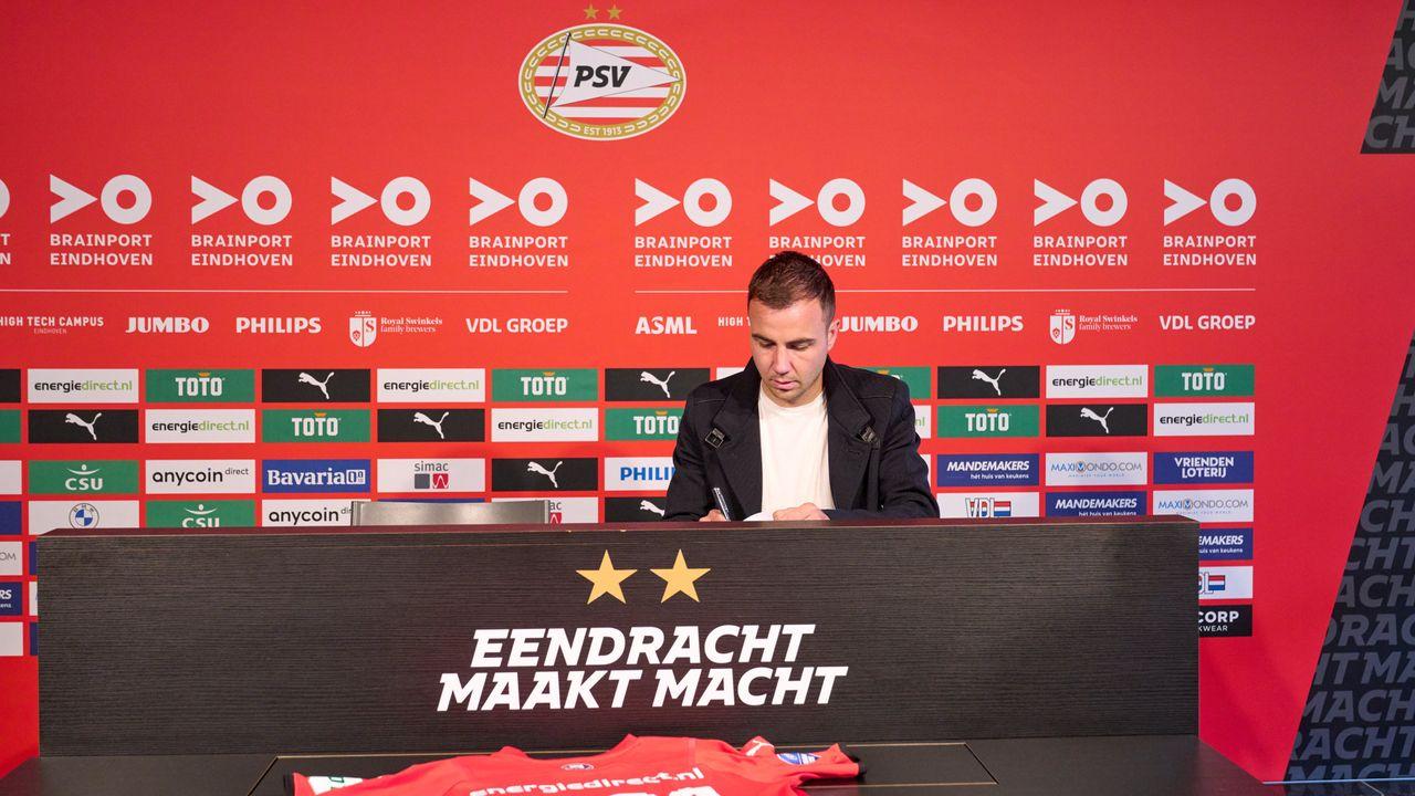 Mario Götze blijft langer bij PSV