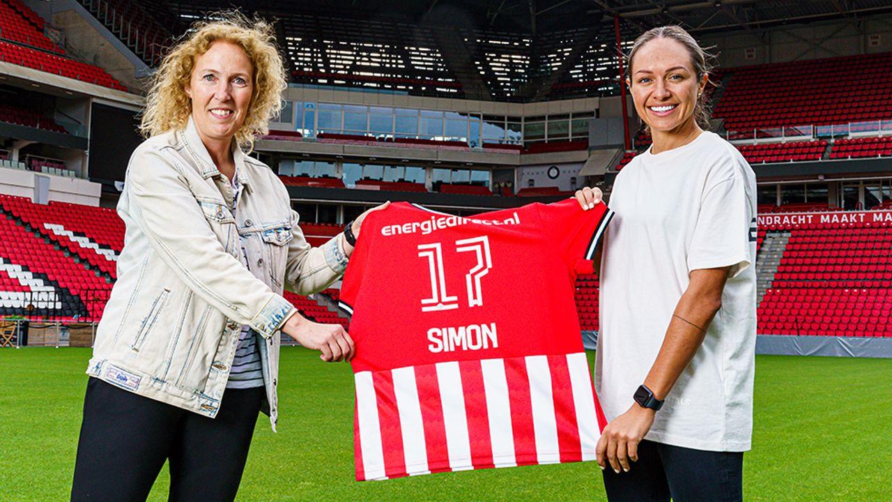 Australische Kyah Simon (29) versterkt PSV Vrouwen