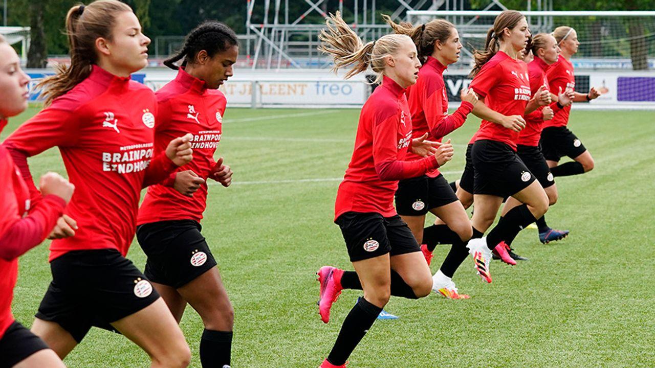 Eerste competitiewedstrijd PSV Vrouwen afgeblazen vanwege corona