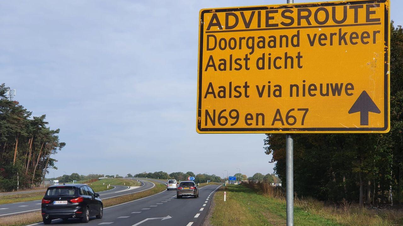 Nieuwe N69 is open en moet Aalst verlossen van vele vrachtwagens