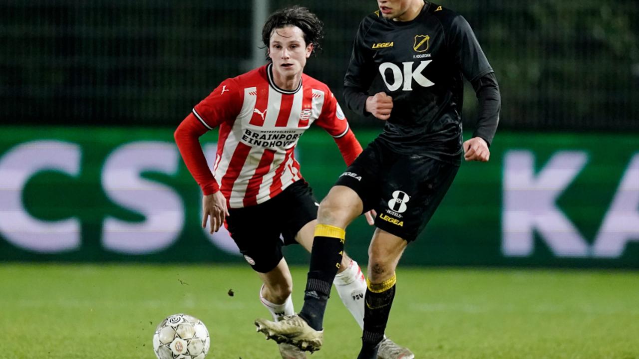Jong PSV pakt punt tegen NAC