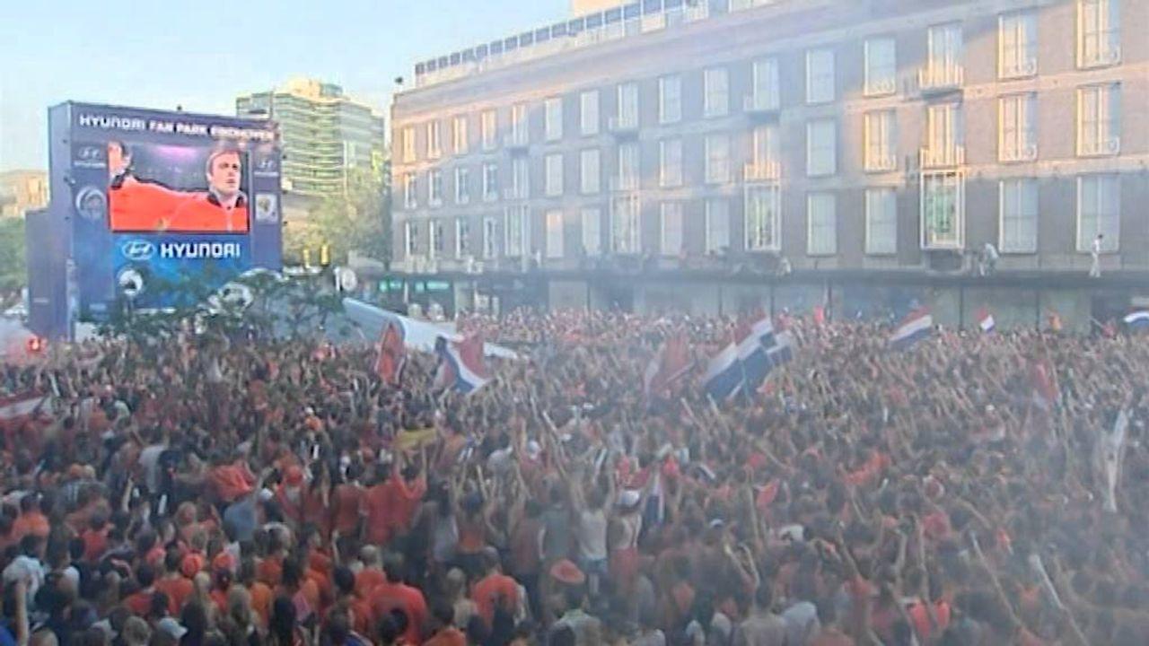 Eindhoven: grote EK-schermen op pleinen mogelijk vanaf kwartfinale