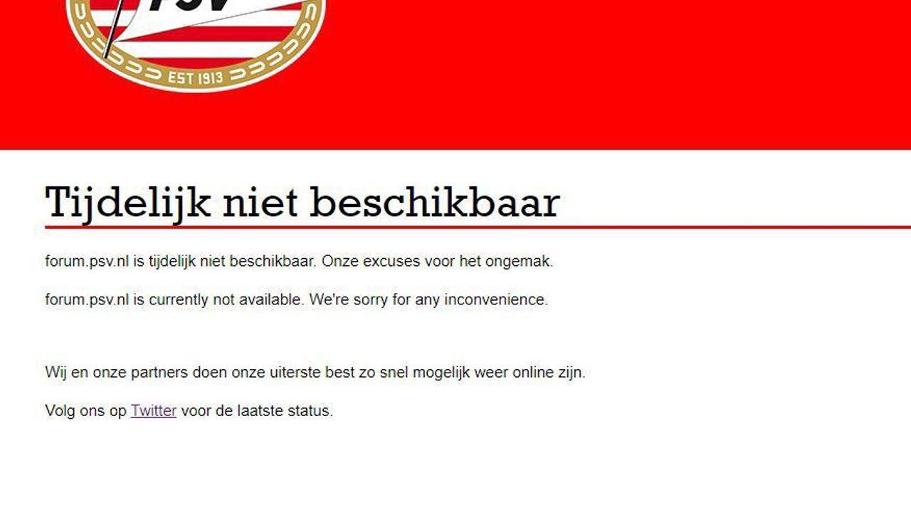 PSV-website laat het afweten bij eerste kaartverkoop in maanden