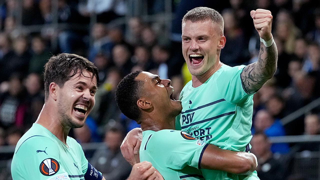 PSV toont zich weer eens efficiënt: 4-1