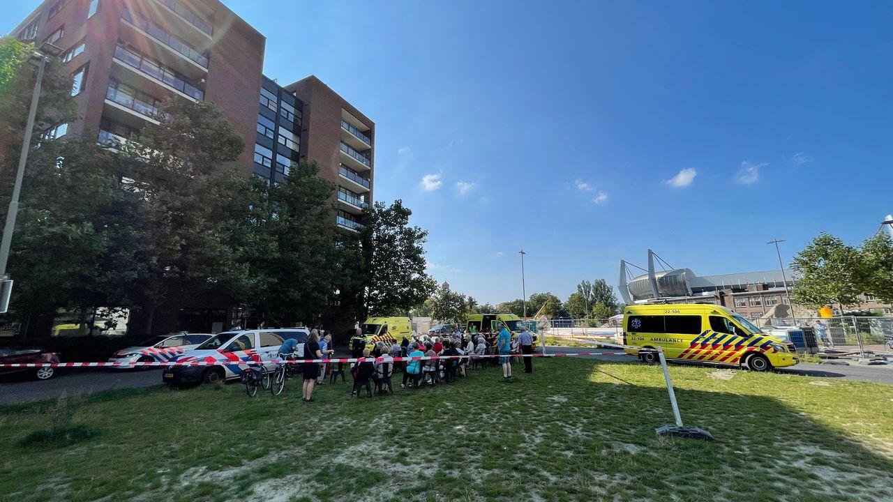 Vijf gewonden bij brand in appartementencomplex in binnenstad