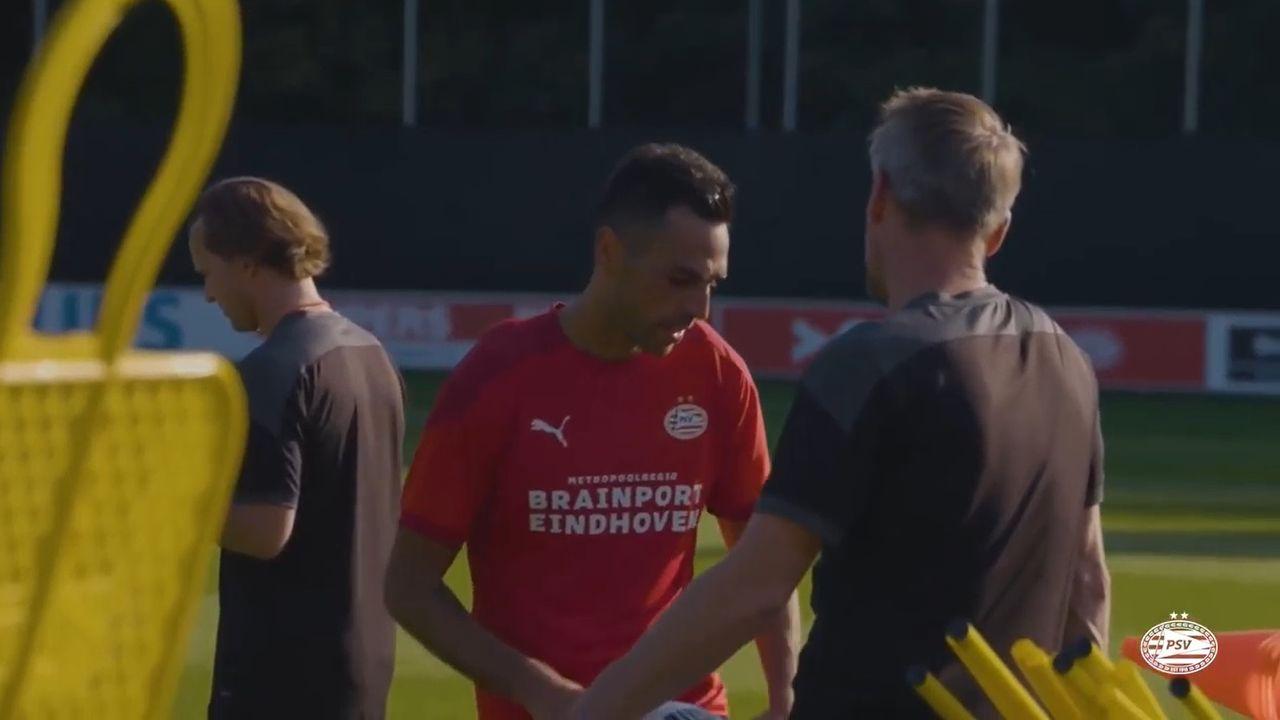 Zahavi traint meteen al mee bij PSV