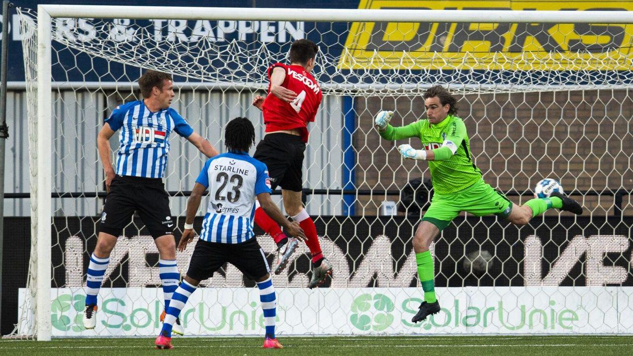 FC Eindhoven in blessuretijd onderuit tegen Helmond Sport