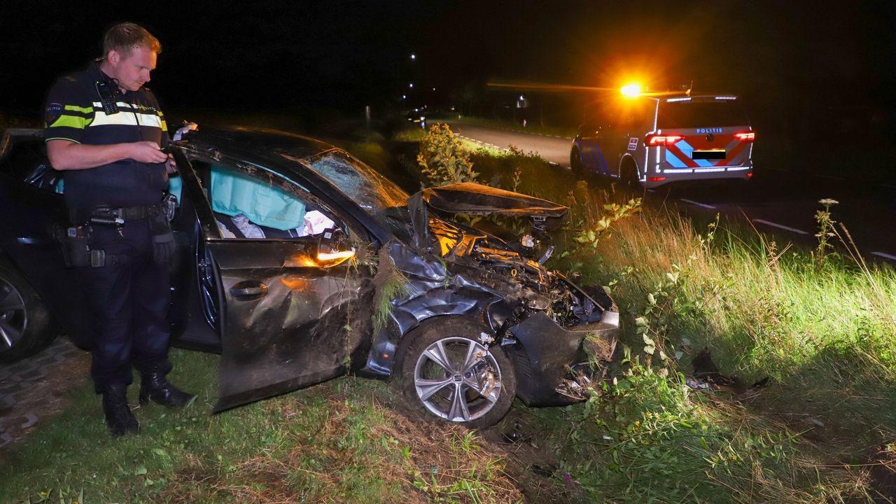 Automobilist gewond bij eenzijdig ongeval in Son en Breugel