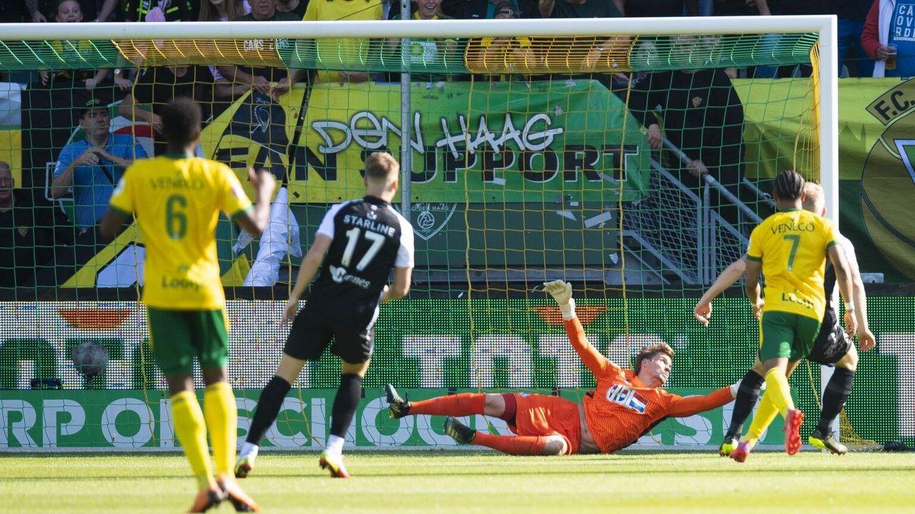 FC Eindhoven verliest op bezoek bij ADO Den Haag
