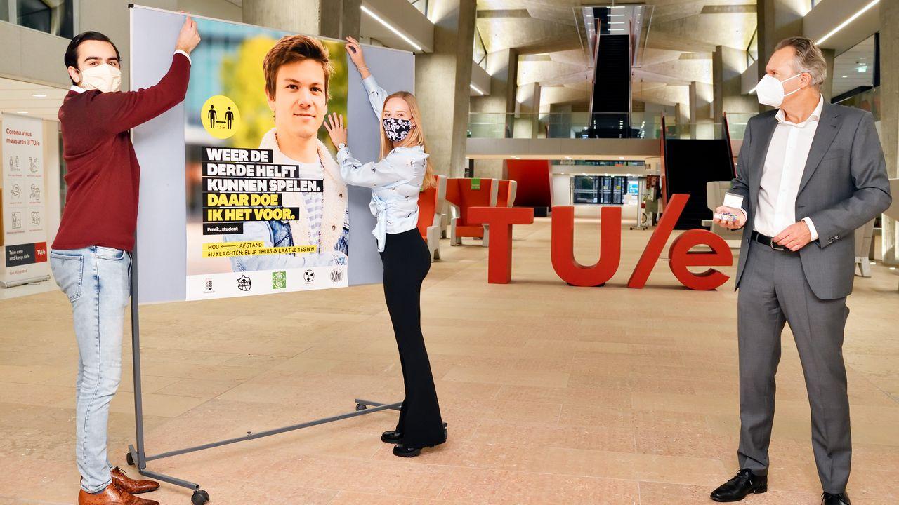 Eindhovense studentenverenigingen creëren coronabewustzijn