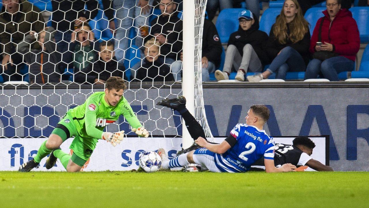 FC Eindhoven houdt punt over aan duel met De Graafschap