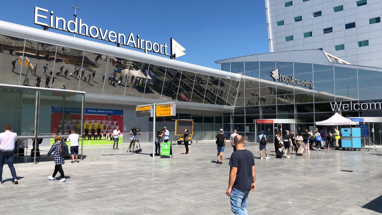 Sportvliegtuig botst met drone, voorzorgslanding op Eindhoven Airport