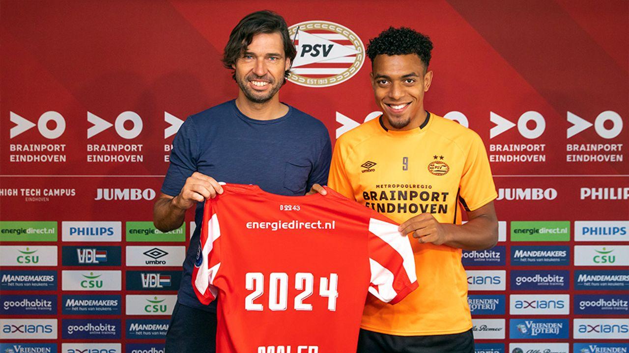 Donyell Malen verlengt contract bij PSV
