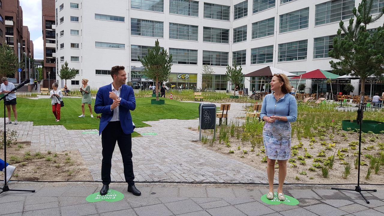 Minister: Clausplein bewijst dat groen in binnenstad kán