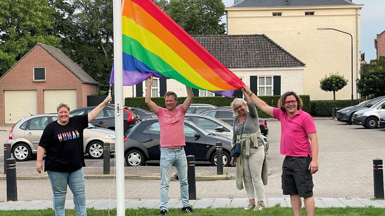 Geldrop-Mierlo hijst zondag toch de regenboogvlag