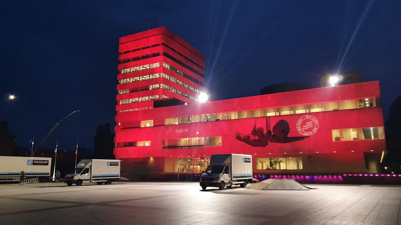 Eindhoven en Geldrop-Mierlo kleuren rood voor evenementenbranche