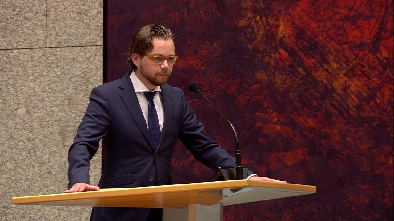Daan de Kort maakt indruk met maiden speech in Tweede Kamer