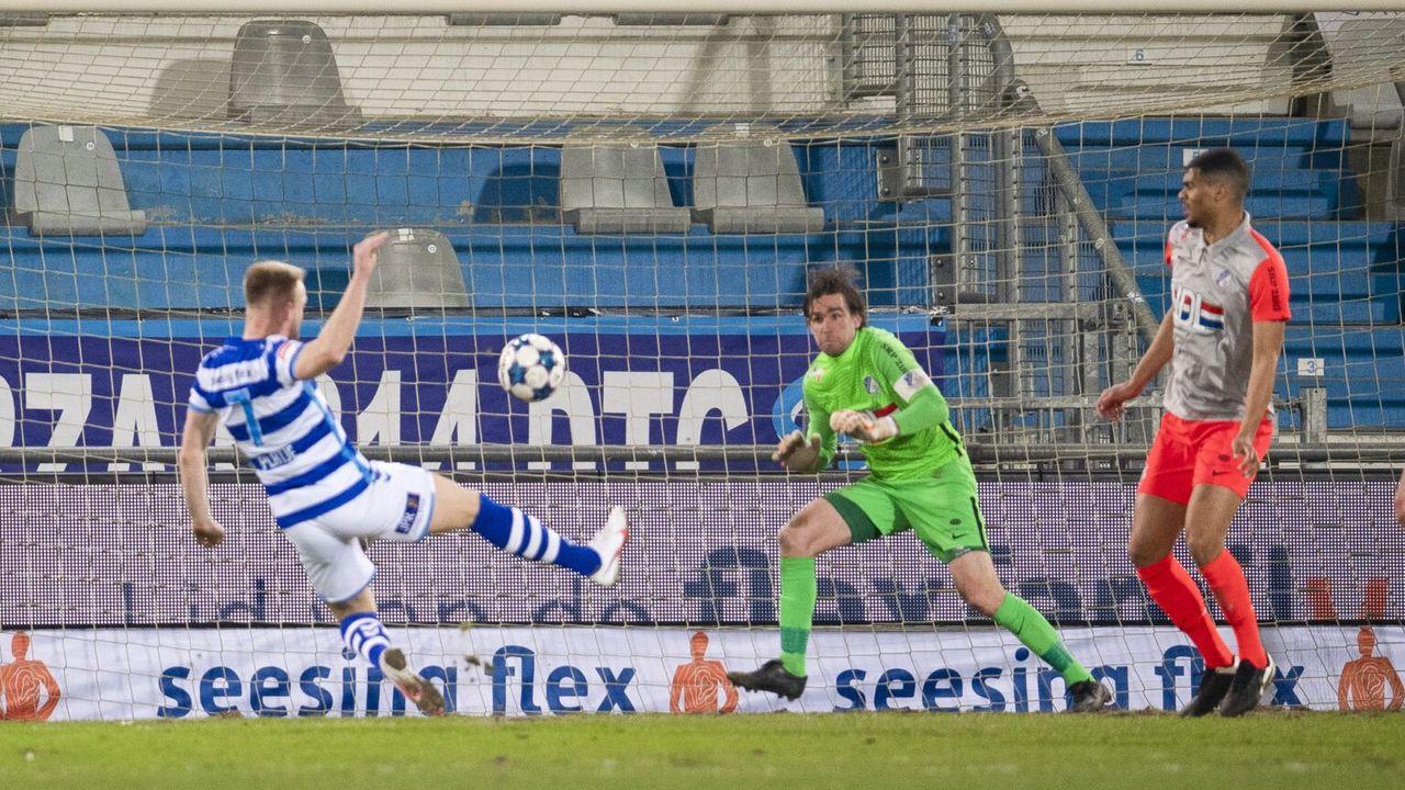 Swinkels (FC Eindhoven) genomineerd voor beste keeper vierde periode