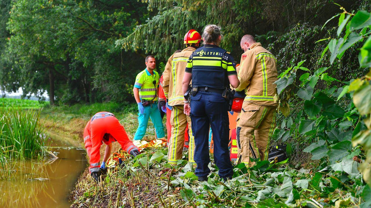 Mountainbiker zwaargewond in bos Veldhoven