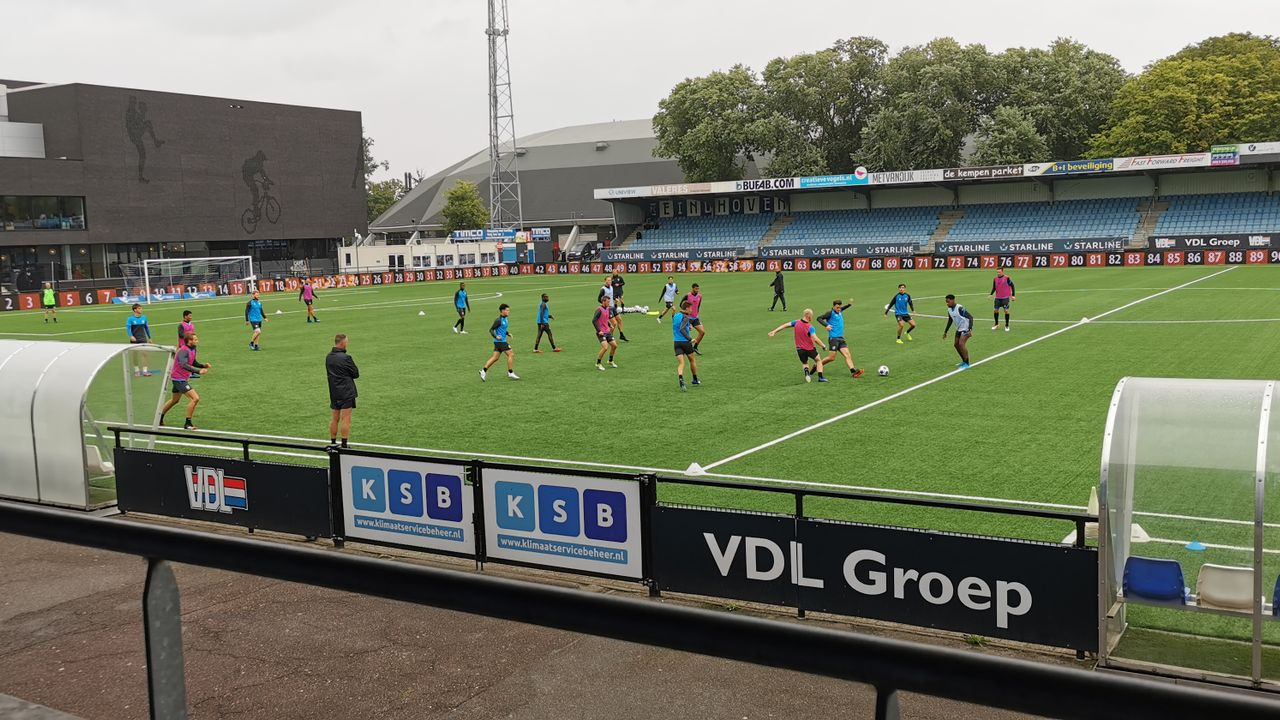 FC Eindhoven aast op play-offs