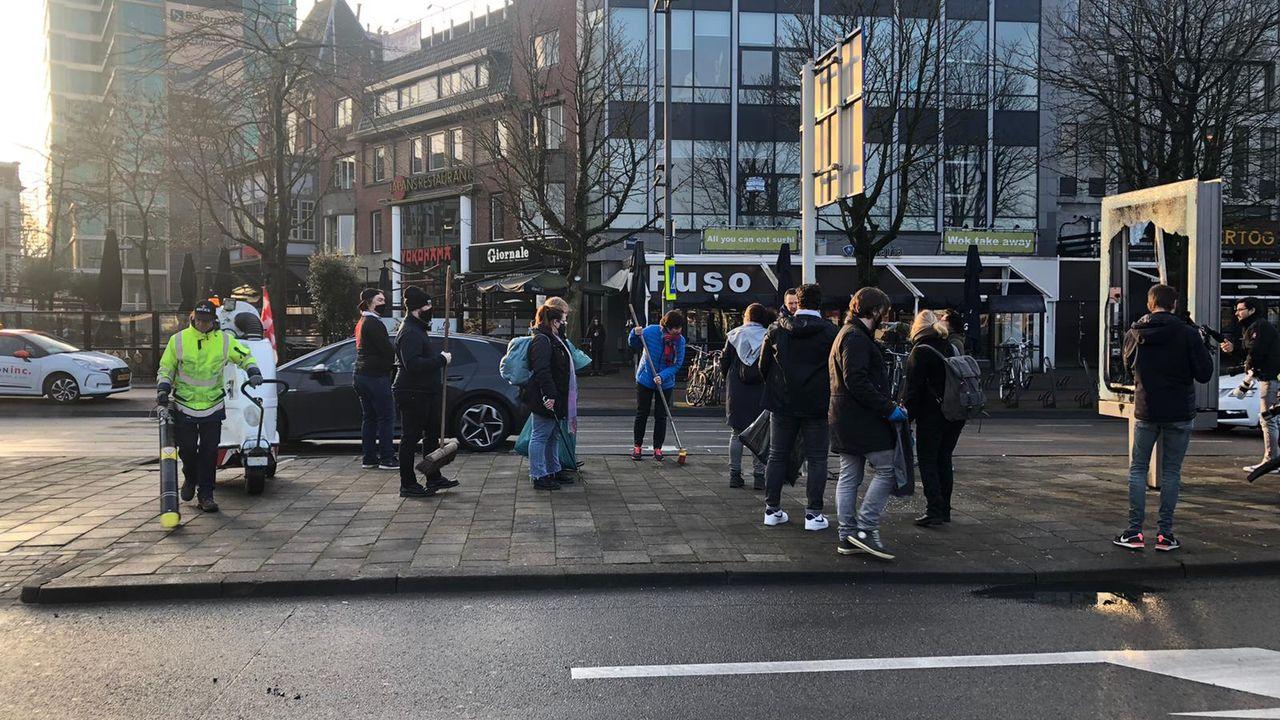 Burgemeester bedankt Eindhovenaren voor hartverwarmende reacties na rellen