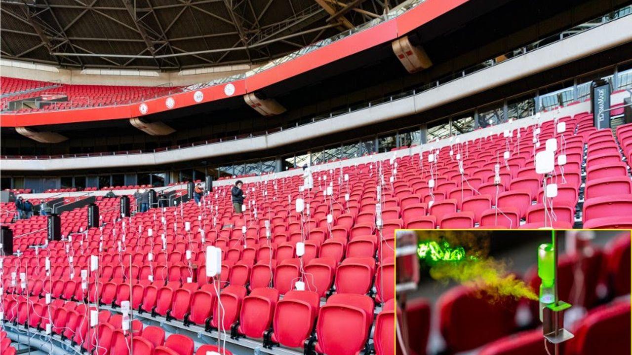 TU/e onderzoekt aerosolen in Johan Cruijff Arena