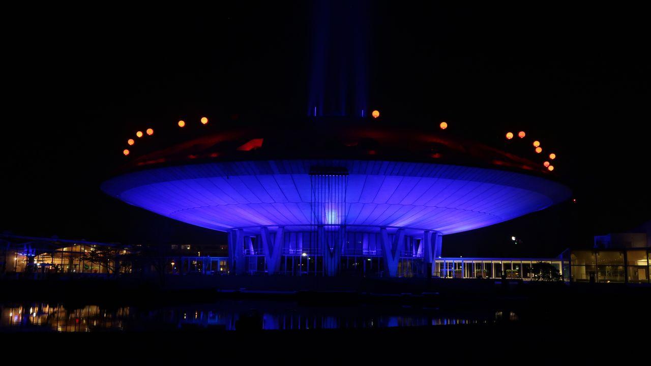 Glow dit jaar op vier locaties, verspreid over de stad
