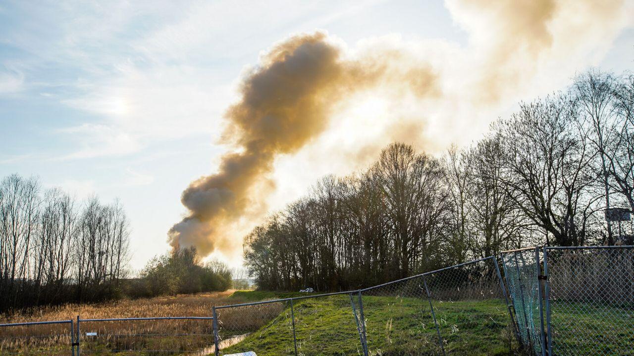 Brand bij afvalverwerker Renewi Eindhoven-Noord