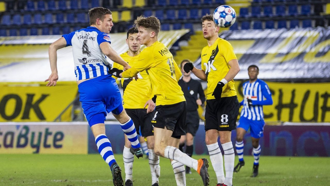 FC Eindhoven verliest op bezoek bij NAC Breda