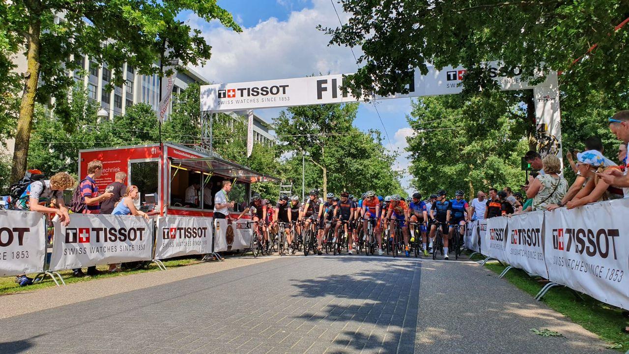 Wielerfestival op de High Tech Campus in Eindhoven