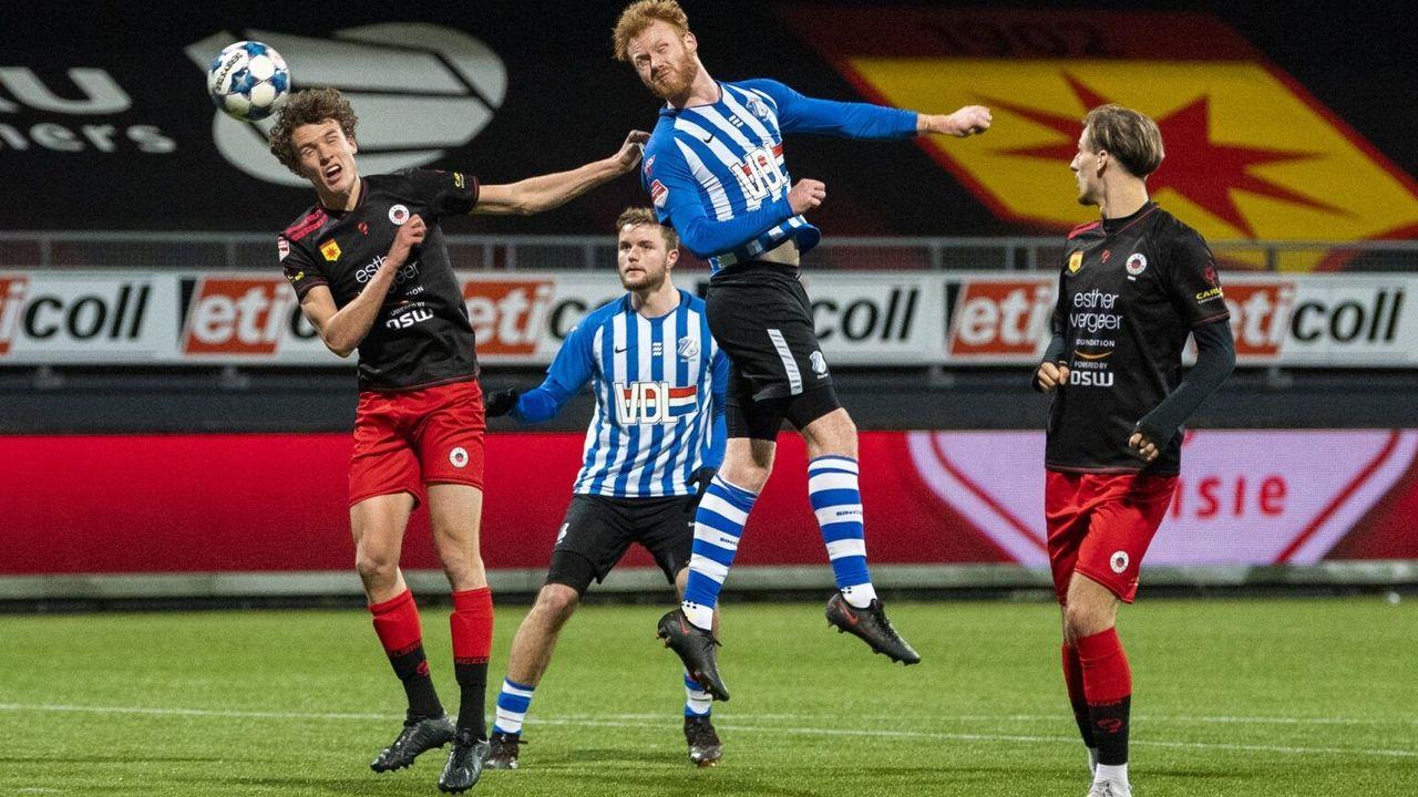 Nipte nederlaag FC Eindhoven in Rotterdam