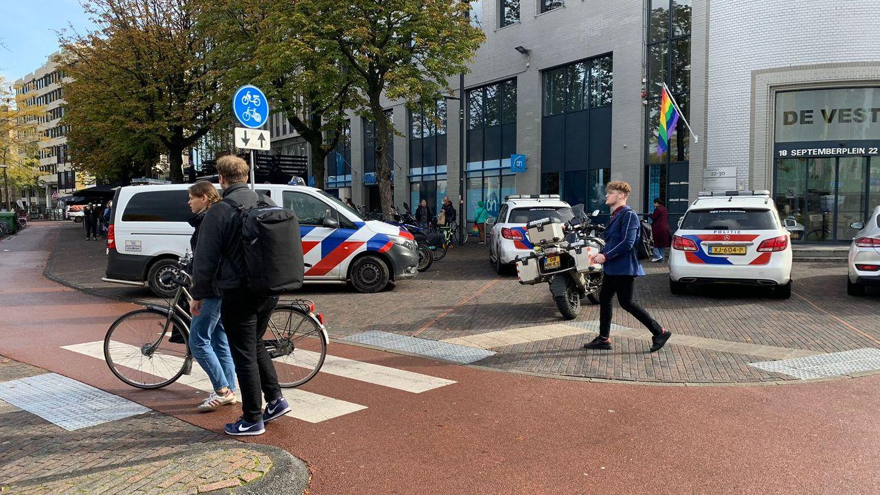 Steekpartij in Albert Heijn binnenstad: twee gewonden