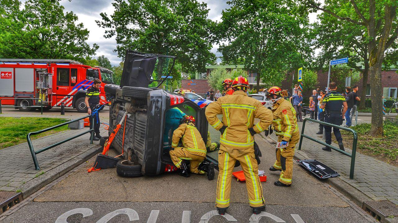 Gewonde door eenzijdig ongeval in Waalre