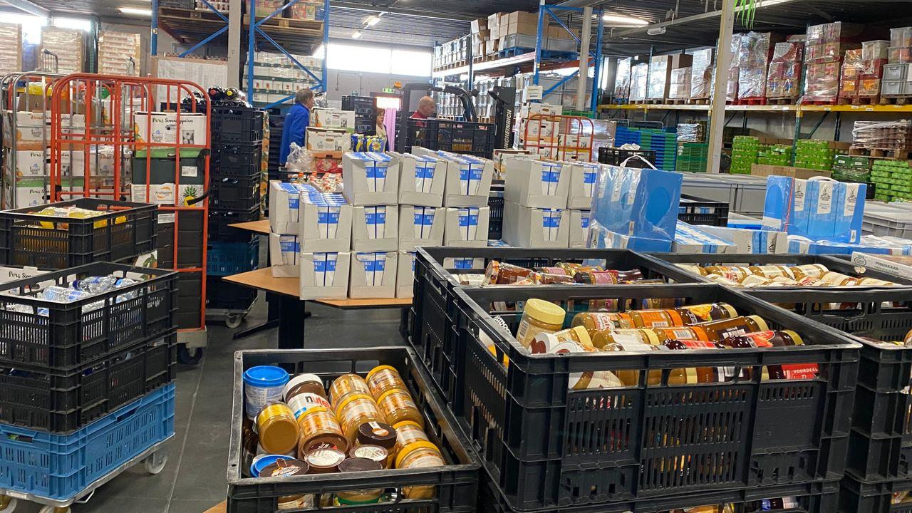 Voedselbank hielp wekelijks 650 huishoudens in 2020