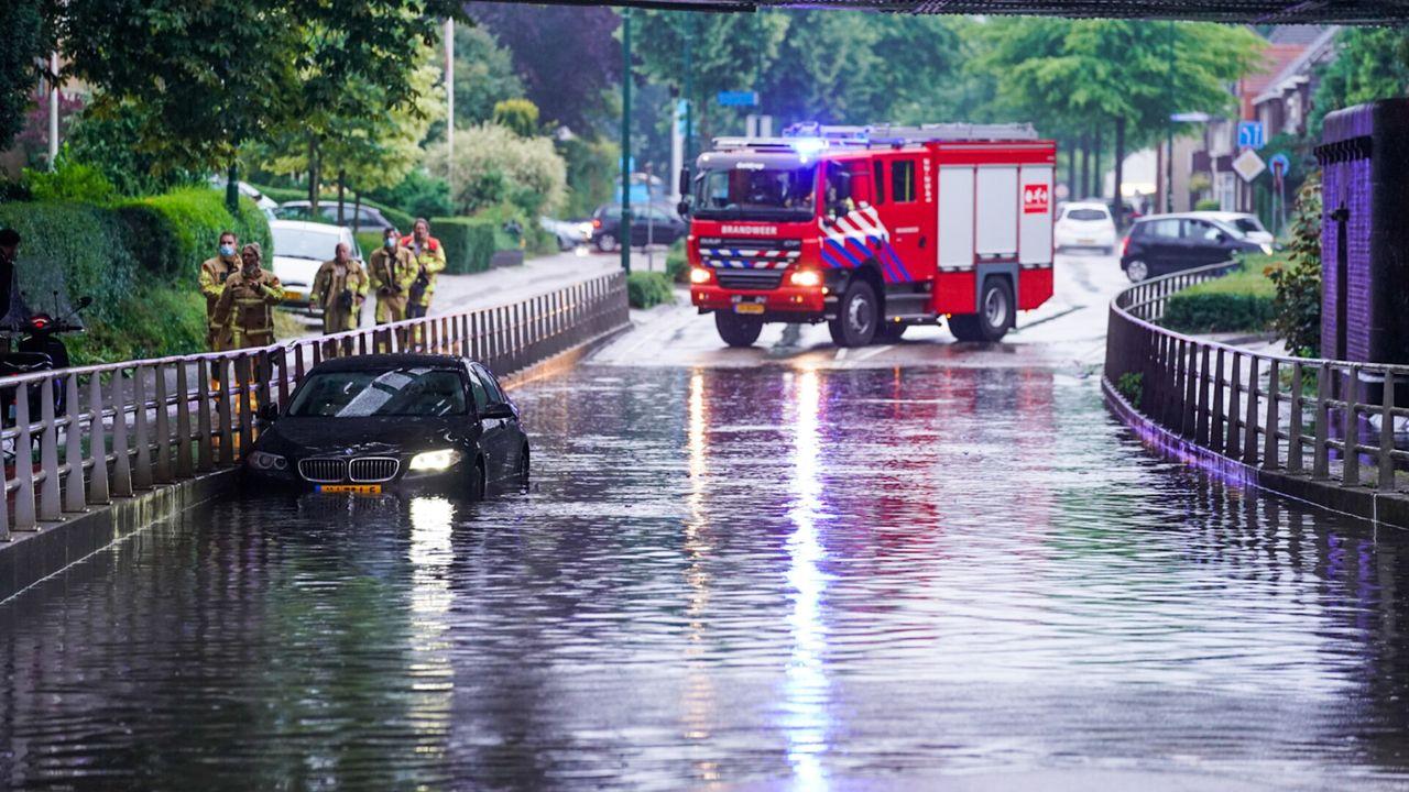 Regen zorgt opnieuw voor ondergelopen tunnels